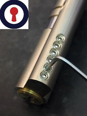 locksport 3* star euro cylinder, re pinnable with pins 1st P&P