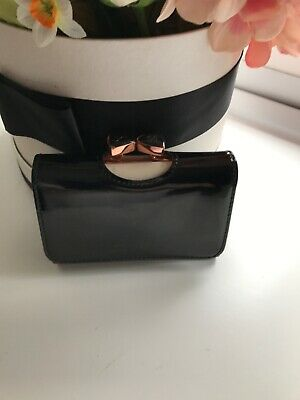 c78abad69f TED BAKER CARD Holder Concertina Style BNWTS Pink With Rose Gold Bow ...