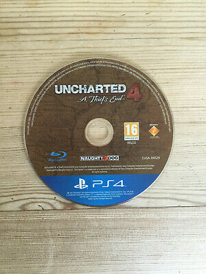 Uncharted 4 The Thiefs End for PS4 *Disc Only*