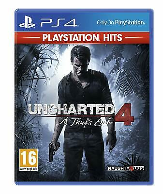 Uncharted 4 A Thief's End PS4 PlayStation 4 Hits Brand New/Sealed Free UK P&P!