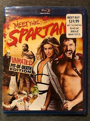 Meet The Spartans Unrated Pit Of Death Edition (2008) Blu-Ray Disc Movie New