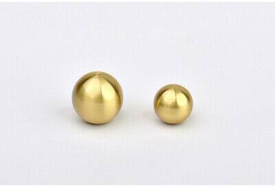 1 Pcs Gold Ball Shape Solid Brass Cabinet Knob Handles Drawer Pulls Furniture
