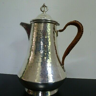 Art Nouveau WMF Silver Plate hammered style Coffee pot