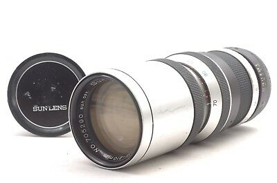 @ Ship in 24 Hrs! @ Discount! @ Sun-Zoom YS-70 70-210mm f4 M42-Mount Lens