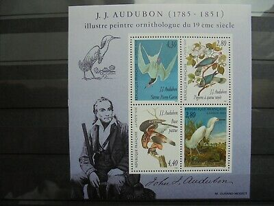 FRANCE - Bloc n° 18 Hommage Audubon 1995 - NEUF ** - LUXE