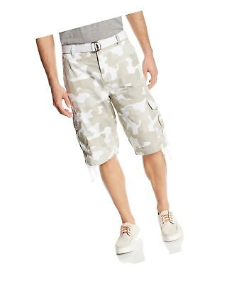 acee14ee29 SOUTHPOLE MEN'S RIPSTOP Camo/Solid Cargo W Belt Shorts Choose Color ...