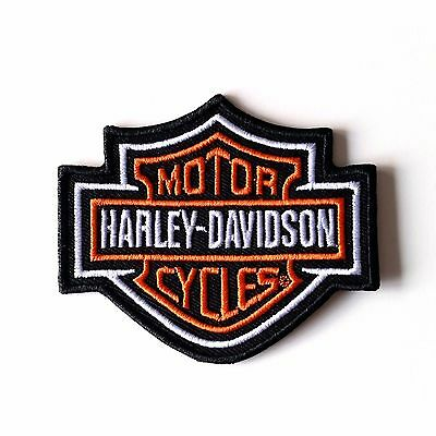 HARLEY DAVIDSON PATCH AUFNÄHER BAR & SHIELD 8,2 x 7 cm