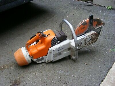 Stihl Ts 350 Petrol Stone Cutting Saw Stihl Ts350 Concrete Stone Saw