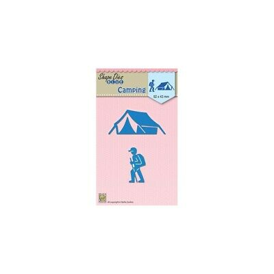 Nellies Stanzschablone -Holidays Camping- SDB047