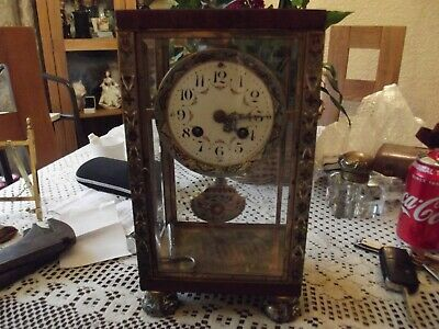 Four Glass Clonosenie French Regulator Project Non Fusee Carriage Clock