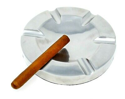 Chairman Metal Aluminum 6 Cigar Cigarette Ashtray Lounge Herf Outdoor Large