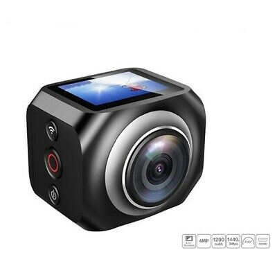 VR360-ACTIONCAM 360 Degree Action Camera