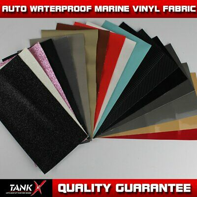 "Faux Leather Marine Vinyl Fabric Car Boat Interior Guard Outdoor Upholstery 54""W"