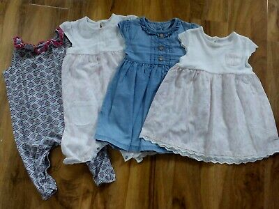 girls clothing summer bundle age 9-12 months