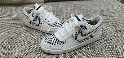 NIKE AIR FORCE 1 low off white lebron top sneakers gr 44 ausverkauft ds used