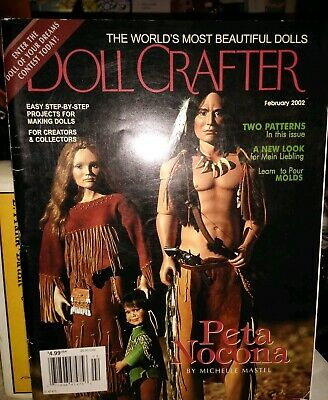 Doll Crafter Magazine February 2002