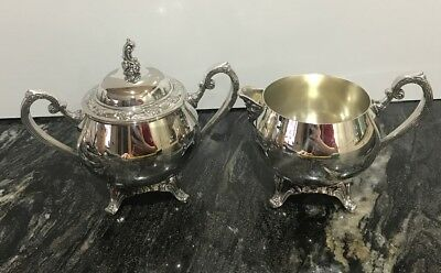 Vintage Heavy Ornate Silver Coffee Pot from Oneida USA - silver plated 1000g