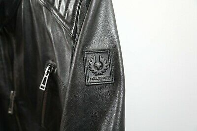 ad137008ed BELSTAFF ARCHER LEATHER Jacket - EU48 US 38 (M) Black - $700.00 ...