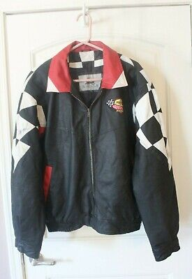 Signed World Of Outlaws, Penzoil Leather Jacket - Signed By Russ Wallace, Kinser