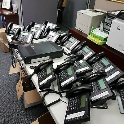 Phone System - Toshiba Strata 6x16 w/ Voicemail and 16 Phones