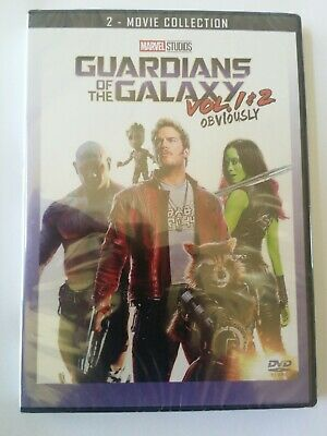 Guardians of the Galaxy Vol. 1 & 2 DVD(2 Movie Collection 2019)New FREE Shipping