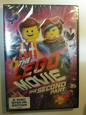 The LEGO Movie 2 DVD Animation Action Comedy Family Fantasy Fast Free SHIPPING🚀