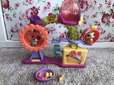 Littlest Pet Shop Hamster Playground Play Set Complete With Everything VGC LPS