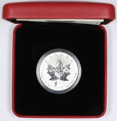 2004 Royal Canadian Mint D-Day Privy Silver Maple Leaf 1oz .9999 Silver w/ OGP