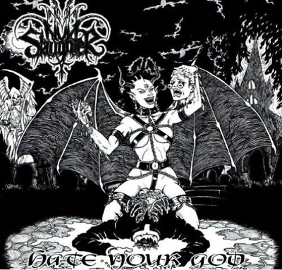 Nunslaughter-Hate Your God (UK IMPORT) CD NEW