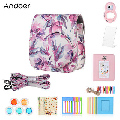 Andoer 8 in 1 Accessories Bundle for Fujifilm Instax Mini 9/8/8+/8s with V0S7