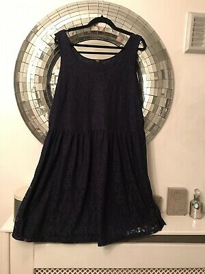 NAVY BLUE - Lace Special Occasions / Party Event Dress Size 22 Curve Women's