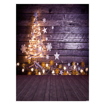Andoer 1.5*2 meters / 5*7 feet Christmas Holiday Theme Background Photo D9N9