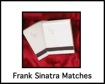 Frank Sinatra Matches,2pk Rat Pack, Frank Sinatra,Hollywood Collectibles,Vintage