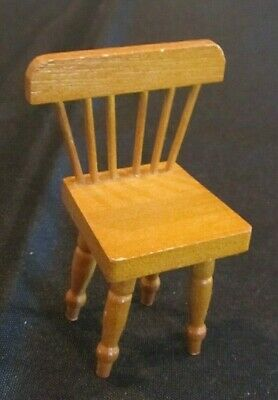 Vintage Shackman  Wooden Chair 1:12 scale