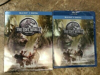 The Lost World: Jurassic Park (Blu-ray + Digital) With Slip Cover