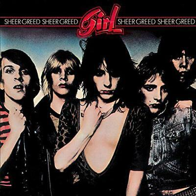Sheer Greed, Fille, CD Audio , Neuf Gratuit & Envoi Rapide
