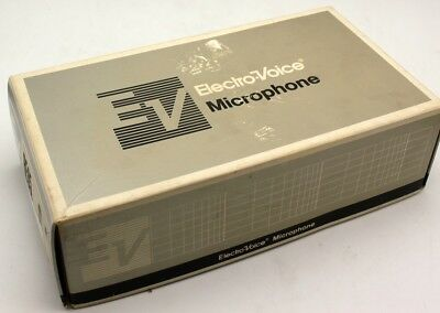Electro-voice EV RE85 Mic LO-Z Microphone in Box with Case