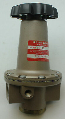 Schrader Bellows Air Regulator 3566-1100 5 to 50 PSIG