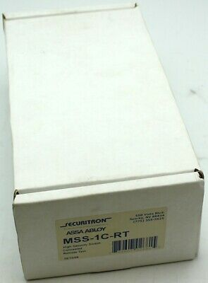 New Securitron MSS-1C-RT High Security Switch Concealed Remote Magnetic Lock