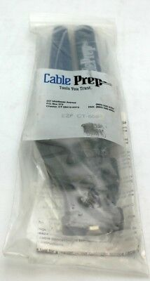 New CablePrep EZF CT-659 Connector Cable Crimping Tool