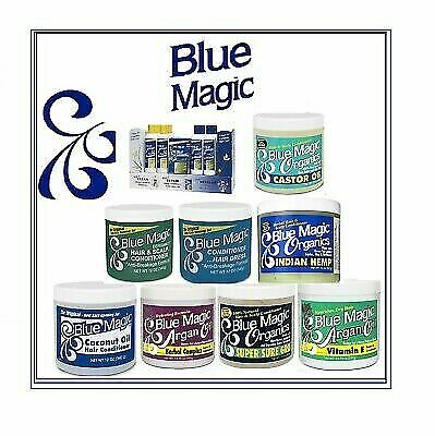 Blue Magic Hair Cream & Conditioner  Hair Care Products Free P&P