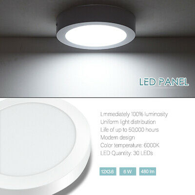 Light Bulbs Lighting 3 5 7 9w Led Round Recessed Ceiling