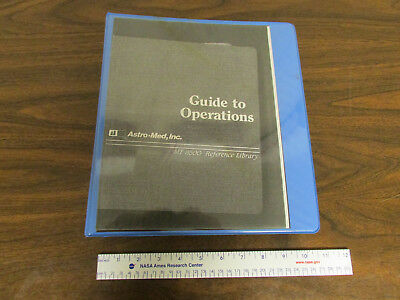 Astro-Med Grass MT 8500 Chart Recorder System Reference Library