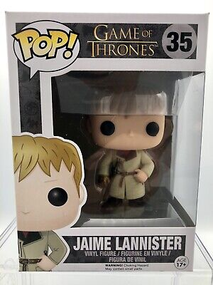 Funko Pop! Game Of Thrones #35 GOLD HAND JAIME LANNISTER Vaulted