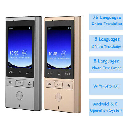 Portable WiFi Android Instant Translator 75 Languages Photo Offline Translation