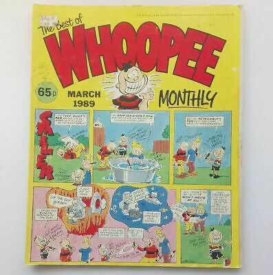 The Best of Whoopee Monthly March 1989 Collectable Childrens Kids Comic  UK *