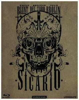Sicario/Steel Edition [DE-Version, Regio 2/B] - Emily Blunt / Benicio Del T NEW