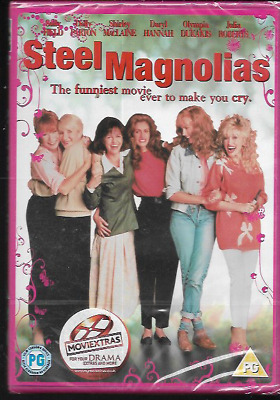 Steel Magnolias R2 Dvd Dolly Parton Julia Roberts Shirley Maclaine New/Sealed