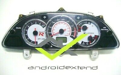 KYMCO XCITING 500i SPEEDOMETER DISPLAY (for DIRECT FUEL INJECTED ENGINE!)