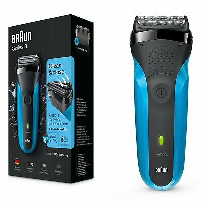 P-Braun Series 3 310s Wet and Dry Electric Shaver for Men/Rechargeable Electric